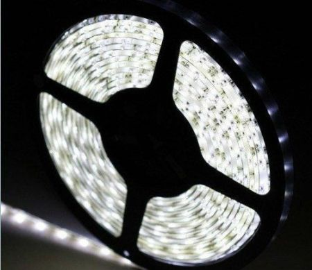 3528 SMD DAY WHITE LED Strip Light 5 m Long (60 LED/M)